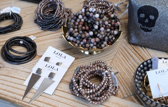 Accessories at Lola New York in White Plains, Oct. 18, 2018. The shop is the vision of two mom friends with a love for fashion.