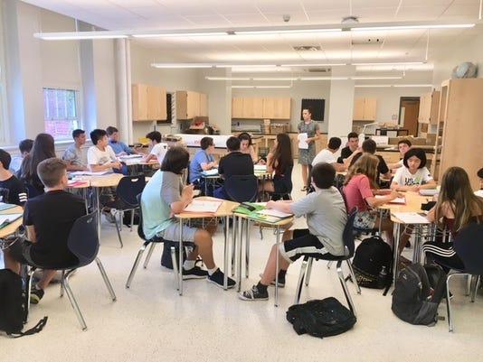 Eastchester High School new classroom
