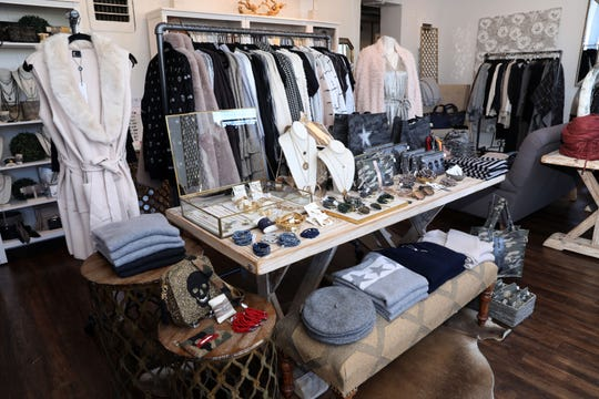 Clothing and accessories at Lola New York in White Plains, Oct. 18, 2018. The shop is the vision of two mom friends with a love for fashion.