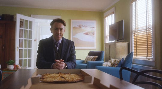 """A scene from the CBS series """"Instinct.""""   Pictured Alan Cumming as Dr. Dylan Reinhart"""