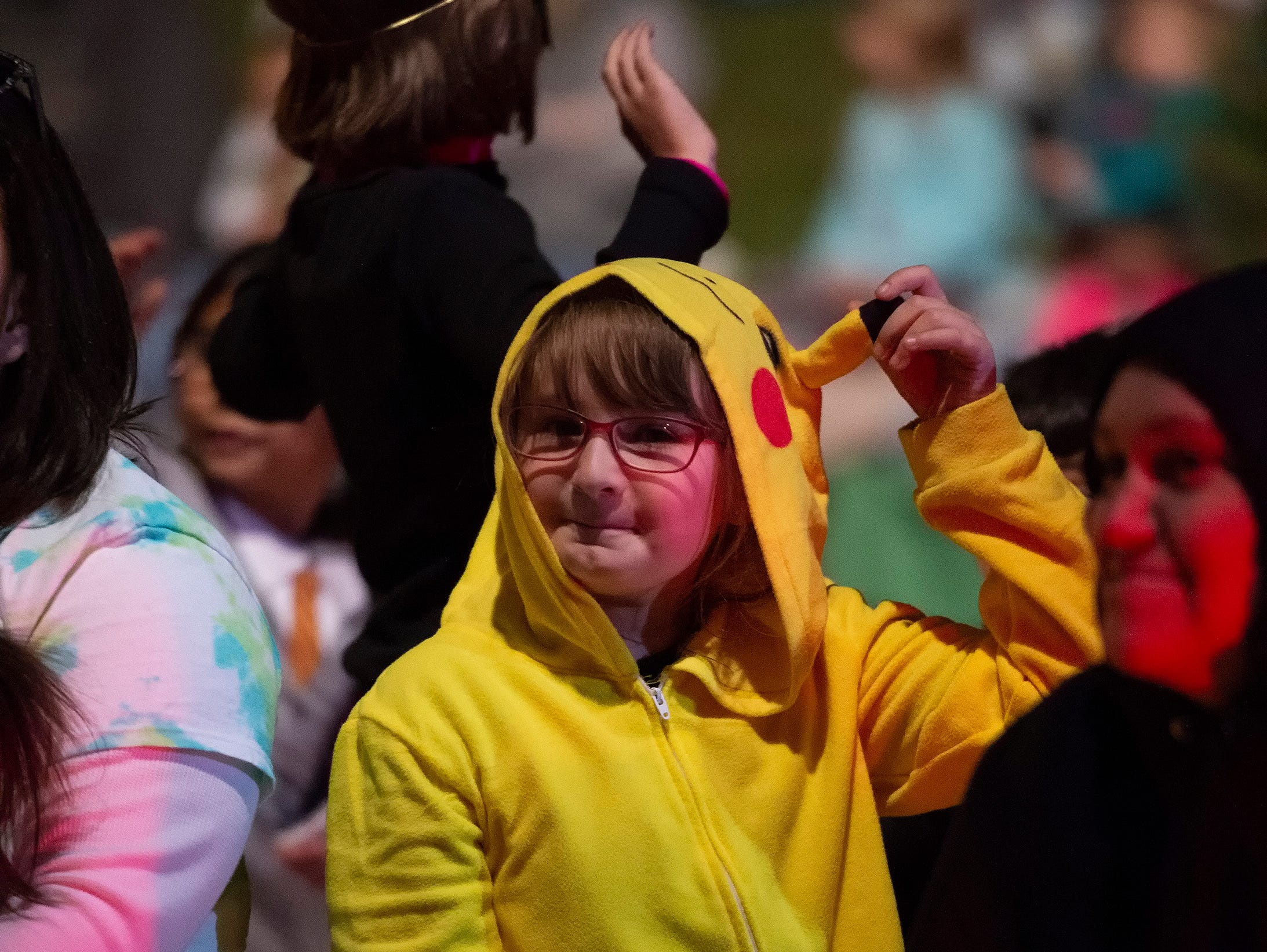 Halloween costumes at the Milford Community Parades presents Autumn Spooktacular.