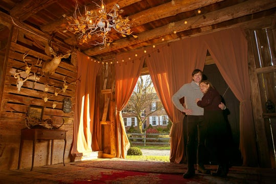 Greg and Dawn Shelton's European-style Christmas Market was so popular last year, they're hosting the one-day event again this year on Dec. 1 at their historic Poplar Hall home in Newark. Admission is free.