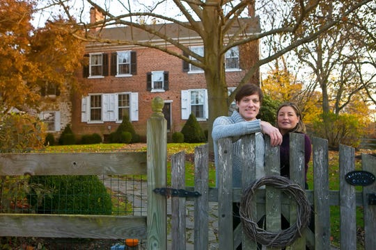 Greg Shelton, and his wife, Dawn,  are hosting their second annual Christmas Market on Dec. 1, from 10 a.m. to 7 p.m. at their historic home, Poplar Hall in Newark.