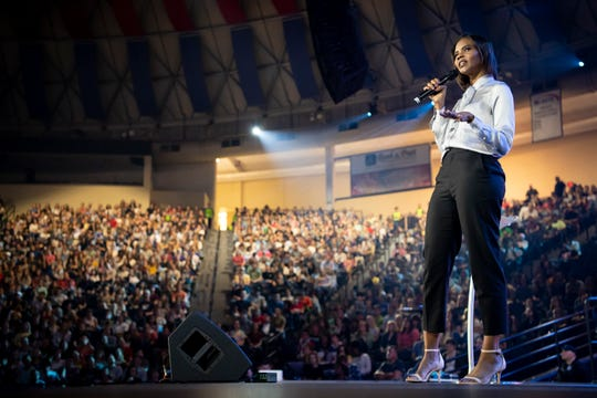 Candace Owens made a turn to conservative politics after her anti-cyberbullying website Social Autopsy was shut down by Kickstarter. It created in her a distrust of the media, something she shared with President Donald Trump.