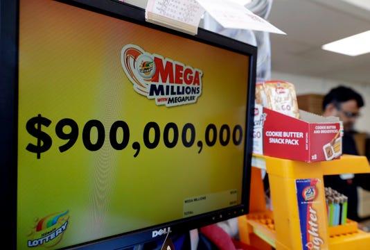 Ap Lottery Jackpot A F Usa Il