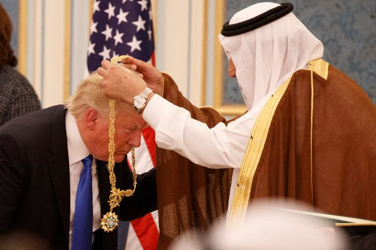 Trump bought and sold by Saudis?