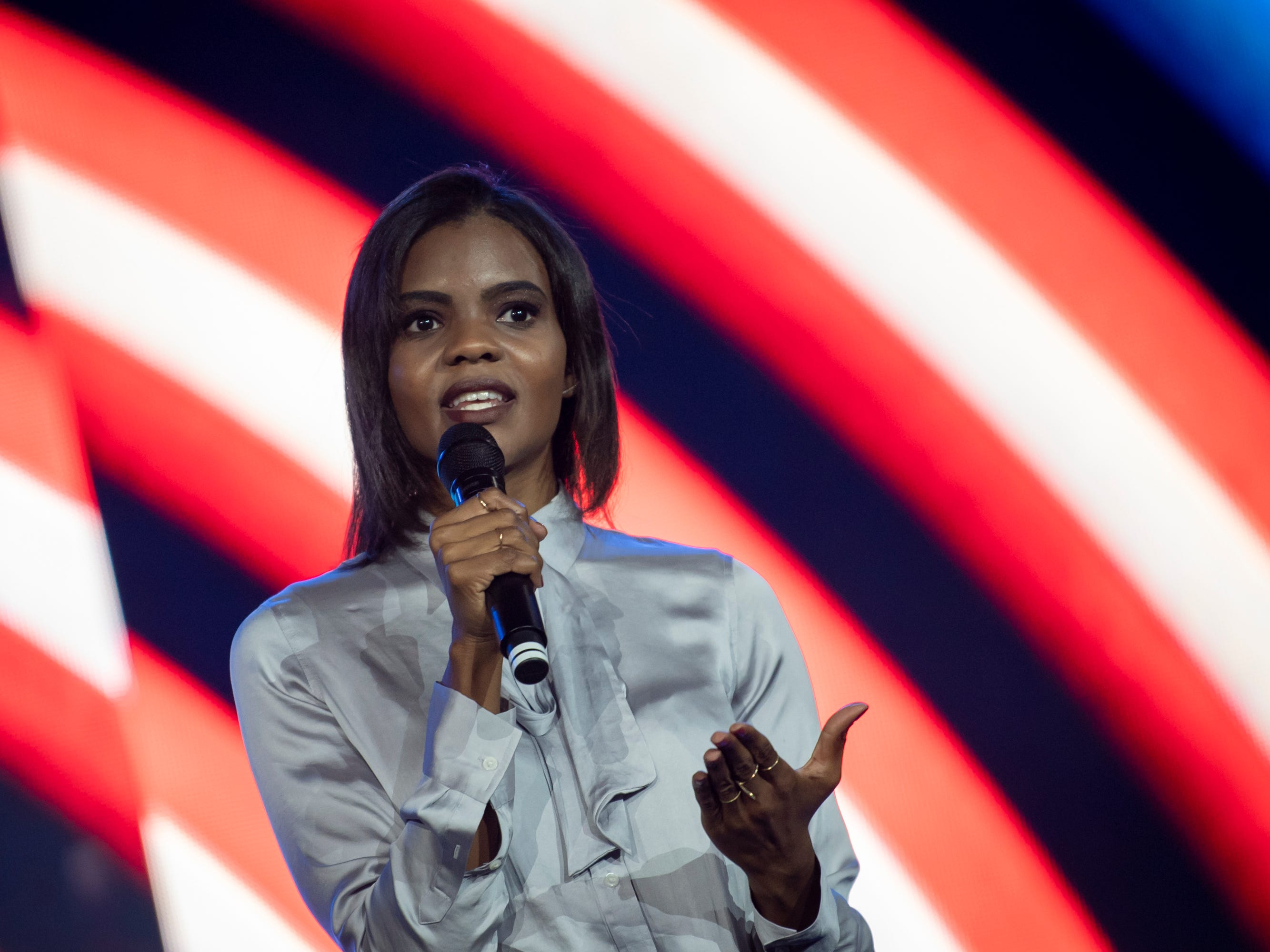 Candace Owens' rapid rise defending two of America's most complicated men: Trump and Kanye