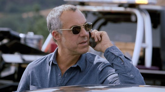 "Titus Welliver plays the title role in the Amazon series ""Bosch,"" based on  Michael Connelly's best-selling books."