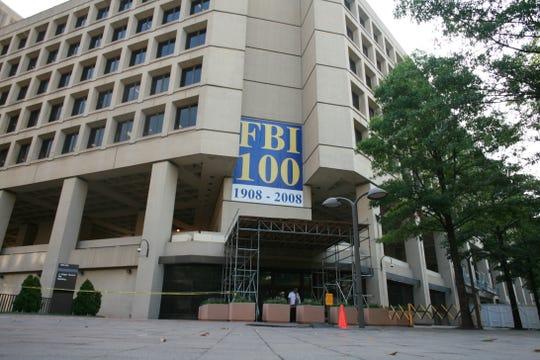 FBI Headquarters in Washington, DC on Wednesday, July 30, 2008.