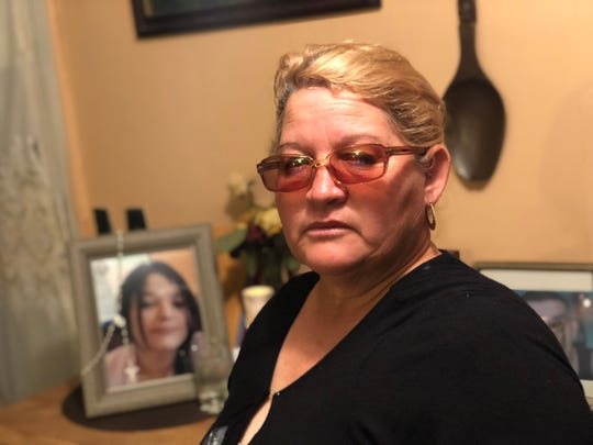 "Cristina Benavides, mother of Laredo murder victim Melissa Ramirez, is still trying to raise enough money to inter her daughter's remains in a nearby Catholic cemetery. ""I cry a lot,"" she says."