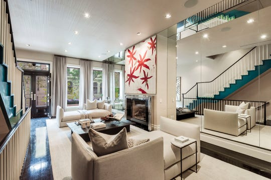 Mariska Hargitay's New York City townhouse has been listed for $10.75 million.