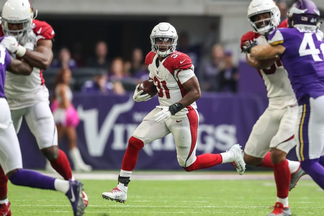Cardinals running back David Johnson has been looking for running room for most of the 2018 season. He was a consensus top-five overall pick in fantasy drafts, but ranks 10 among running backs in fantasy points per game.