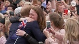Prince Harry hugged a huge fan, and it went exactly how you think it would go.