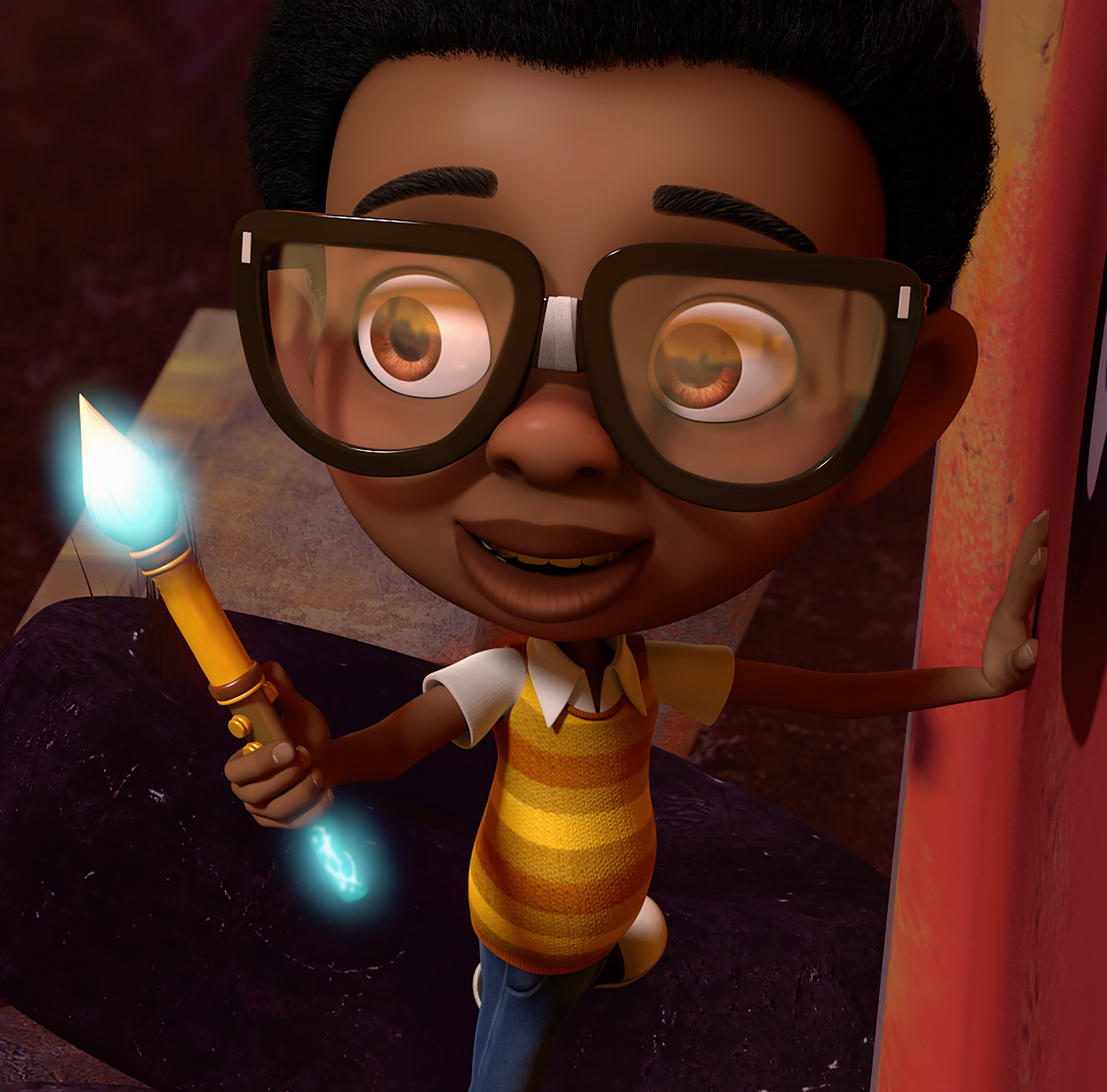 Ben is a wide-eyed, imaginative 8-year-old at the center of 'Motown Magic,' a new Netflix animated family series that features newly recorded versions of classic Motown hits.