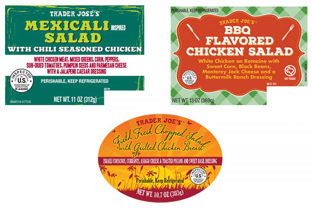 Trader Joe's recalls 'fresh salads' in 9 states over potential listeria, salmonella risk | Reno Gazette Journal