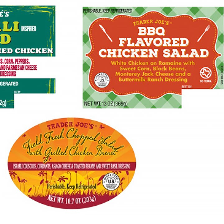 Trader Joe's recalls 'fresh salads' in 9 states over potential listeria, salmonella risk
