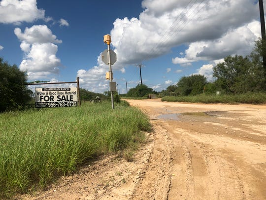 Melissa Ramirez's body was found near this intersection of Jefferies Road and FM 255, north of Laredo in Webb County, Texas. She was the first of four victims allegedly shot and killed by a former U.S. Border Patrol agent.