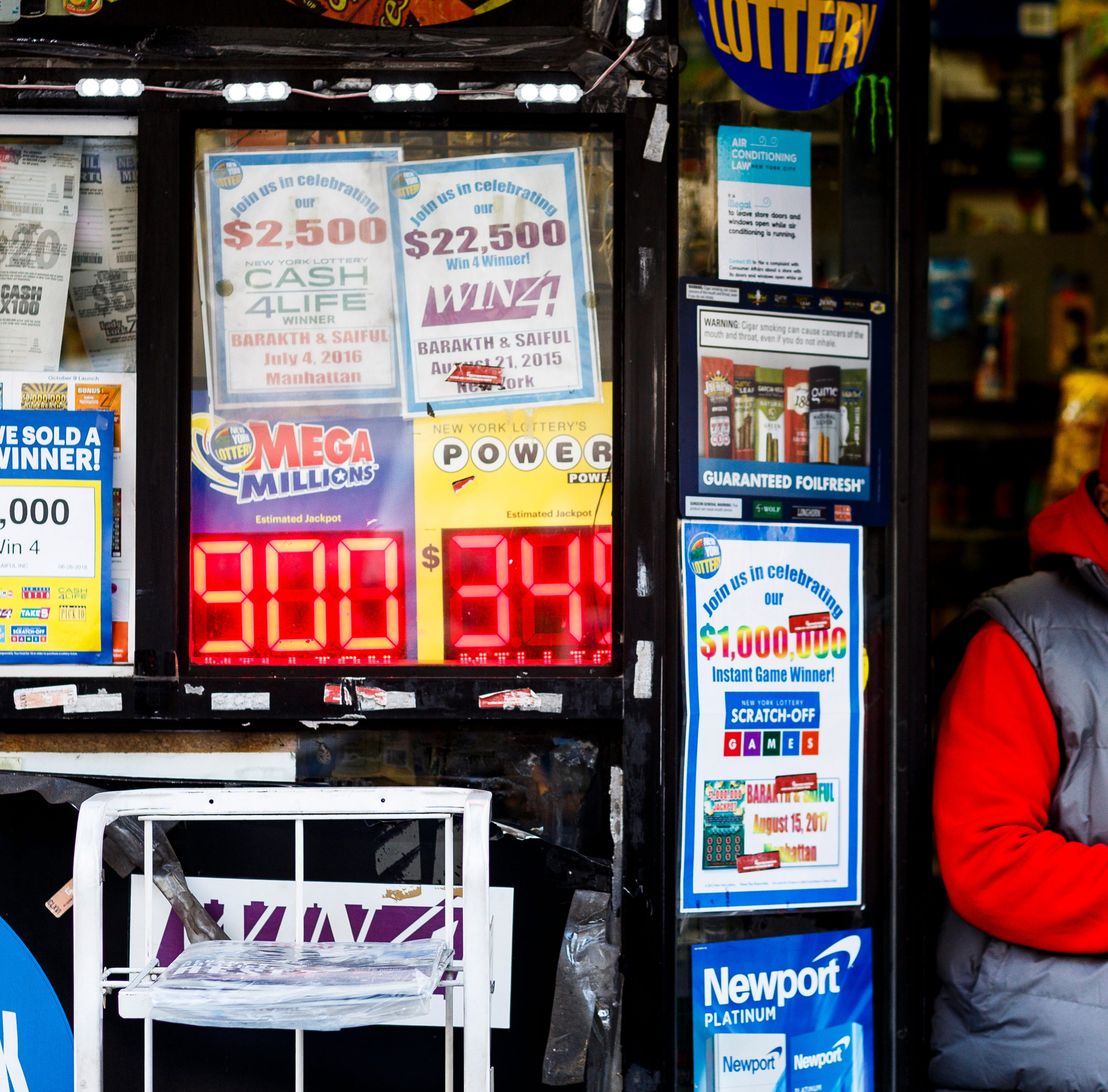 Mega Millions: The lottery stores in New York with the biggest winners