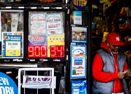 Epa Usa New York Mega Millions Lottery Lif Gaming Lotteries Usa Ny