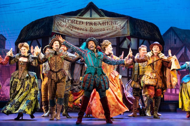 """""""Something Rotten"""" continues its run through Sunday at the Fox Cities Performing Arts Center in Appleton."""
