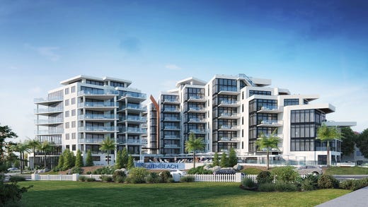 Rendering Of South Beach At Long Branch A Luxury Beachfront Inium