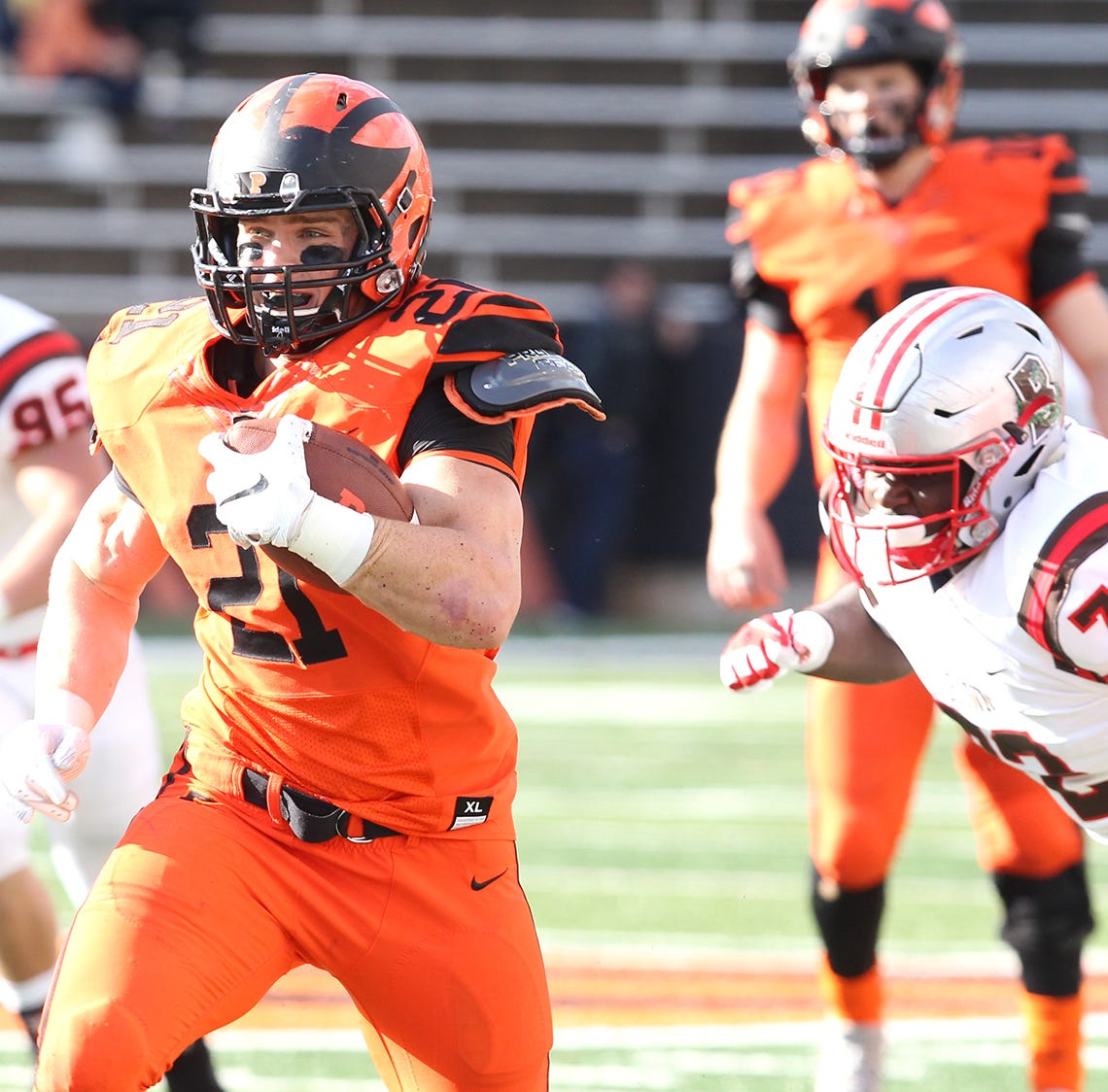 Princeton football is steamrolling opponents, and Jersey guys are playing key roles