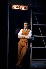 "Eric William Morris as Carl Denham in ""King Kong"" on Broadway."
