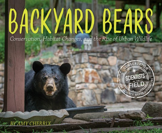 "The cover of Amy Cherrix' ""Backyard Bears."""