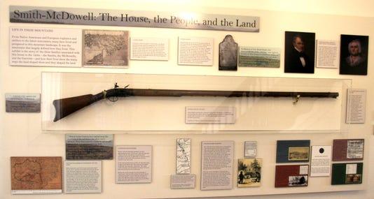 Daniel Smith Rifle At Smith Mcdowell House Rob