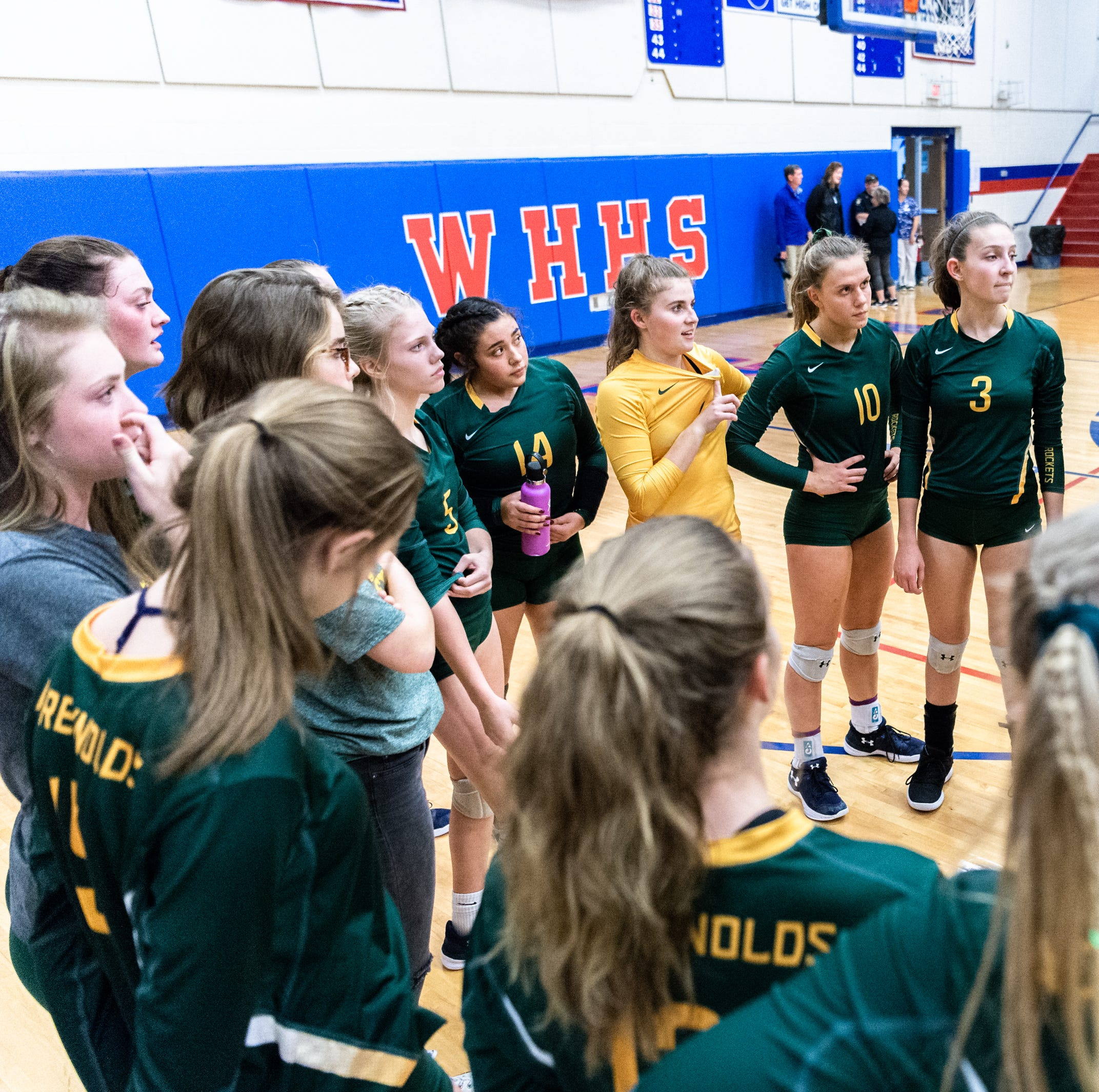 Reynolds volleyball coach steps down