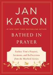 "The cover of Jan Karon's ""Bathed in Prayer"""