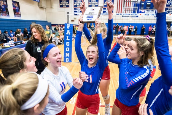 West Henderson is one of three remaining local volleyball teams in the NCHSAA playoffs.