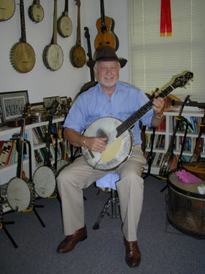 Banjo historian and musician George Gibson.