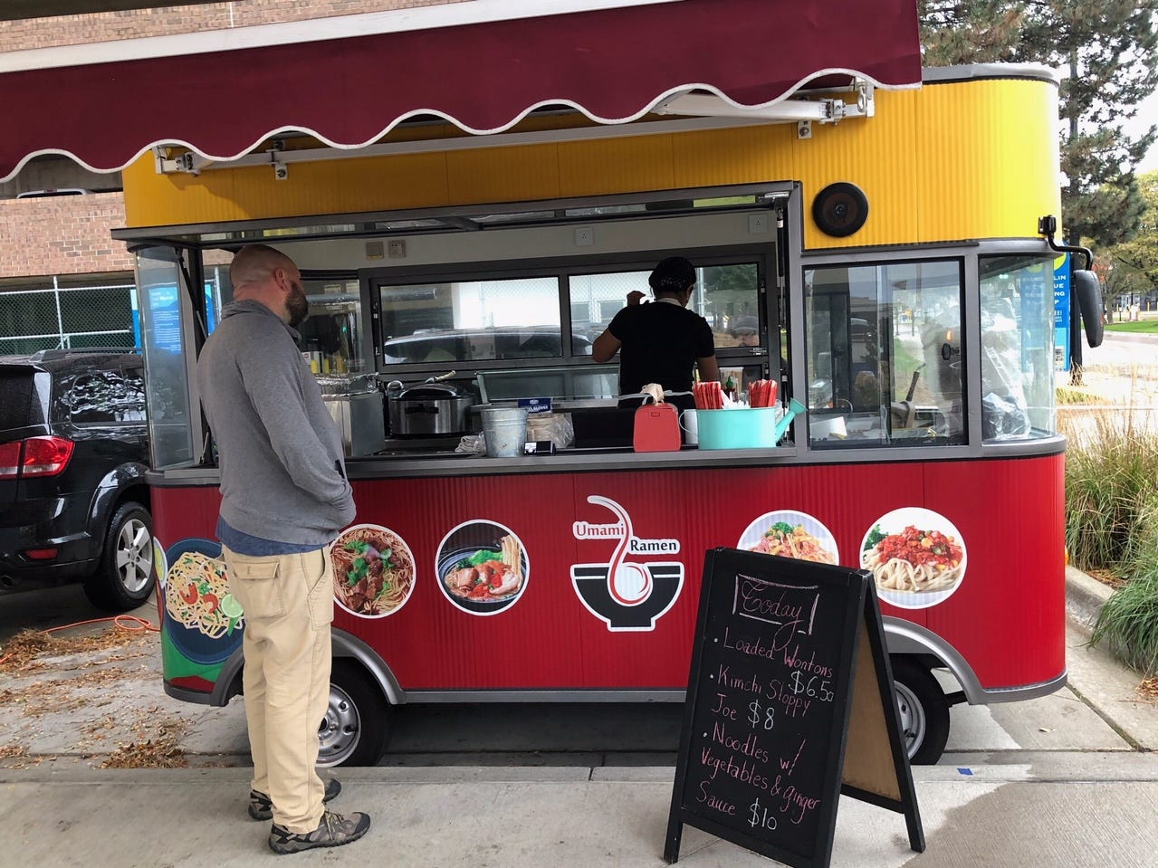 Umami Ramen showcased the new food truck at Festival Market Square during Fall into the Arts on Friday.