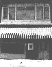 The Hour Glass Cub at 46 Hawley St., a bottle club in the 1960s.