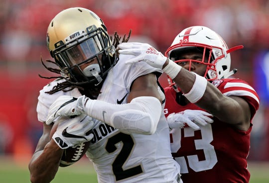 Colorado wide receiver Laviska Shenault Jr.'s status for Saturday's game at Washington is uncertain.