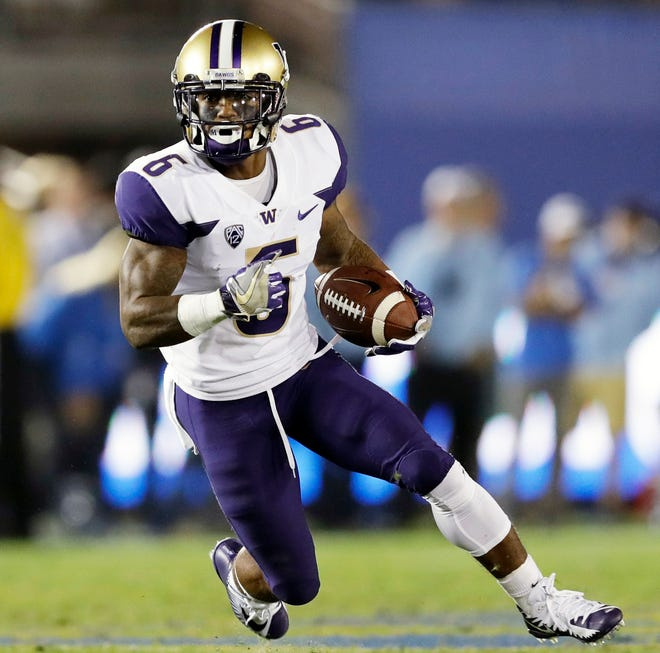 Washington running back Myles Gaskin was injured during last week's game at Oregon, but coaches were optimist he would be ready to return on Saturday against Colorado.