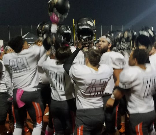 Central Kitsap's football team closed in on a playoff berth with a 52-42 win at Capital on Thursday at Ingersoll Stadium in Olympia.