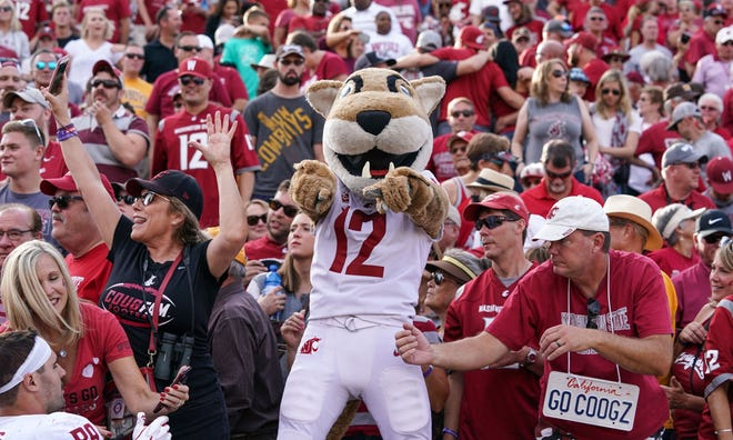 Washington State will be in college football's national spotlight on Saturday, when the Cougars host Oregon.