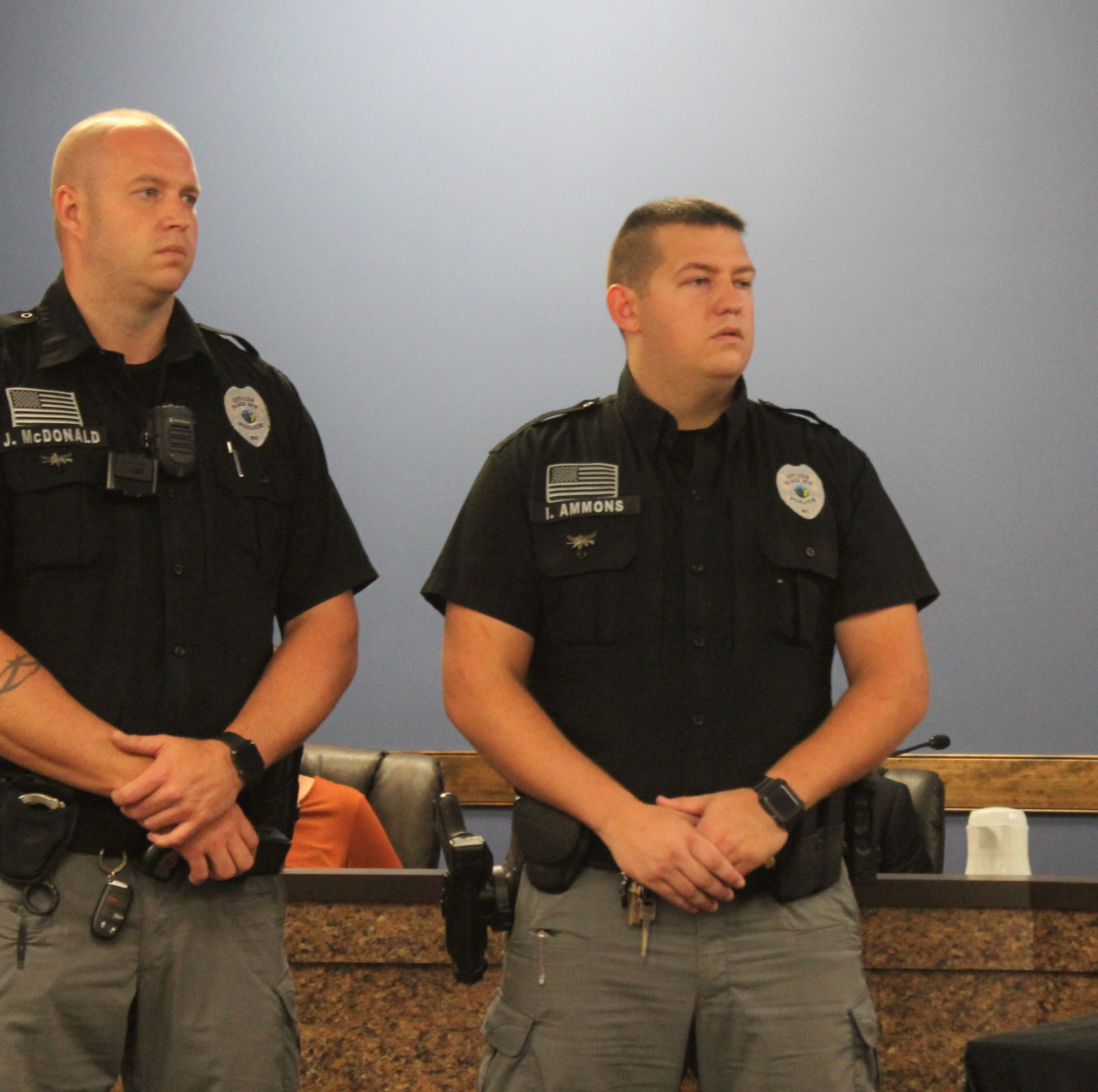Black Mountain police officers recognized for saving lives