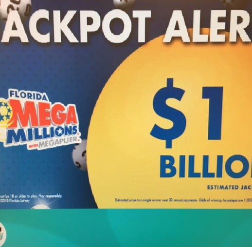 Mega Millions hits $1 billion: Check your numbers here