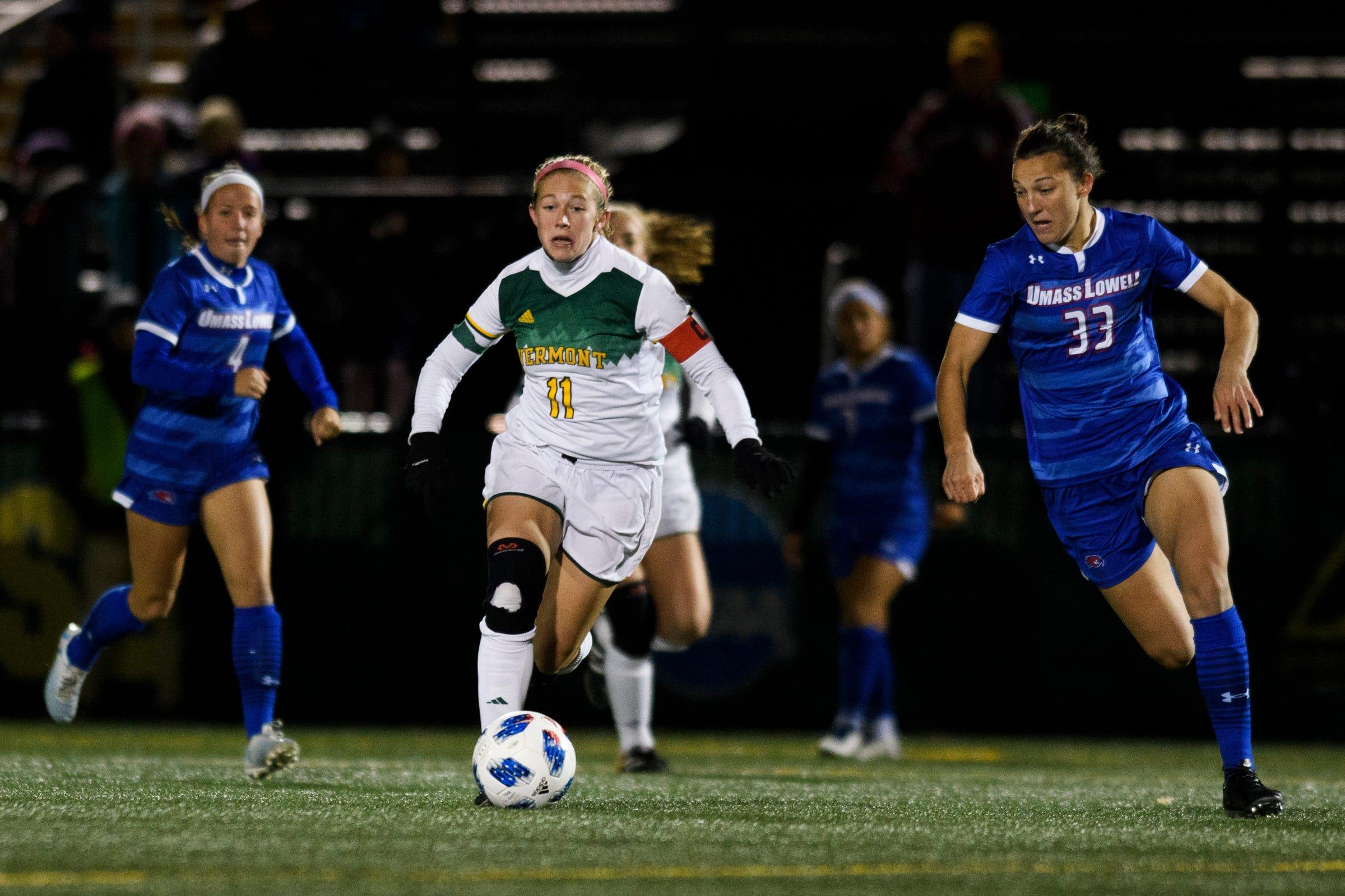 Late winner stuns UVM women's soccer in loss to UMass-Lowell | Burlington Free Press