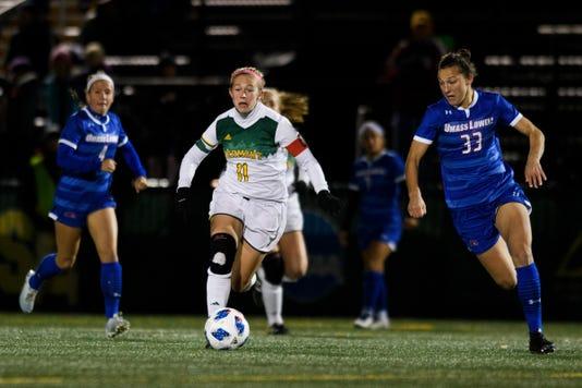 Umass Lowell Vs Vemront Women S Soccer 10 18 18