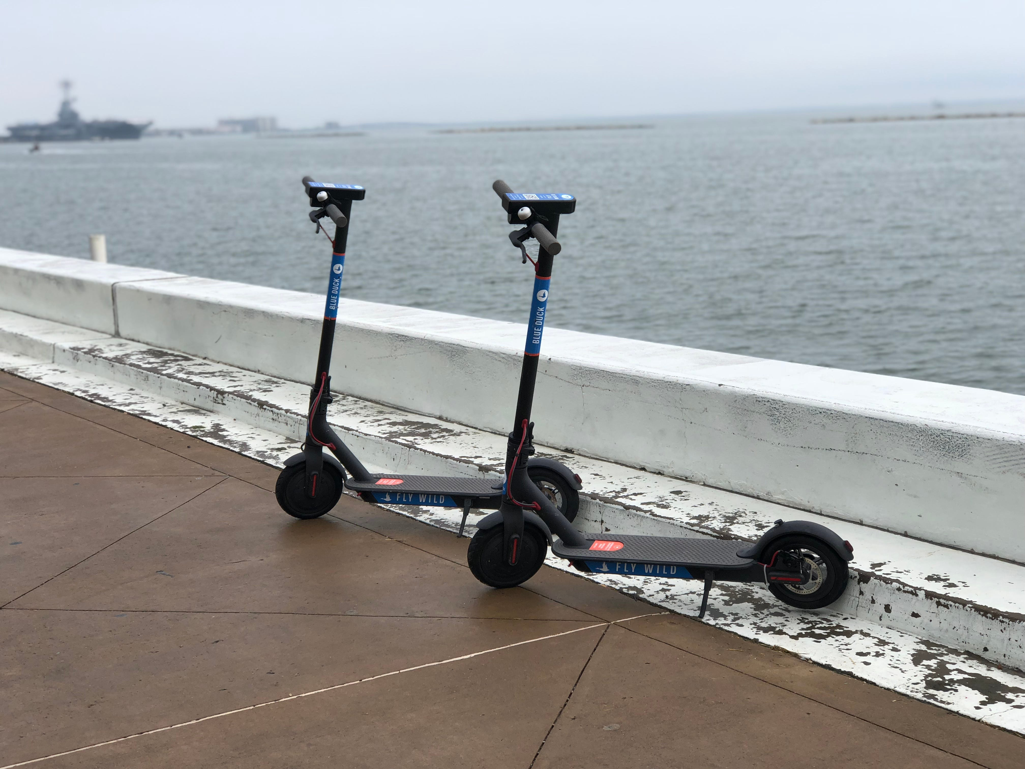 Colleges regulate use of electric scooters on campuses