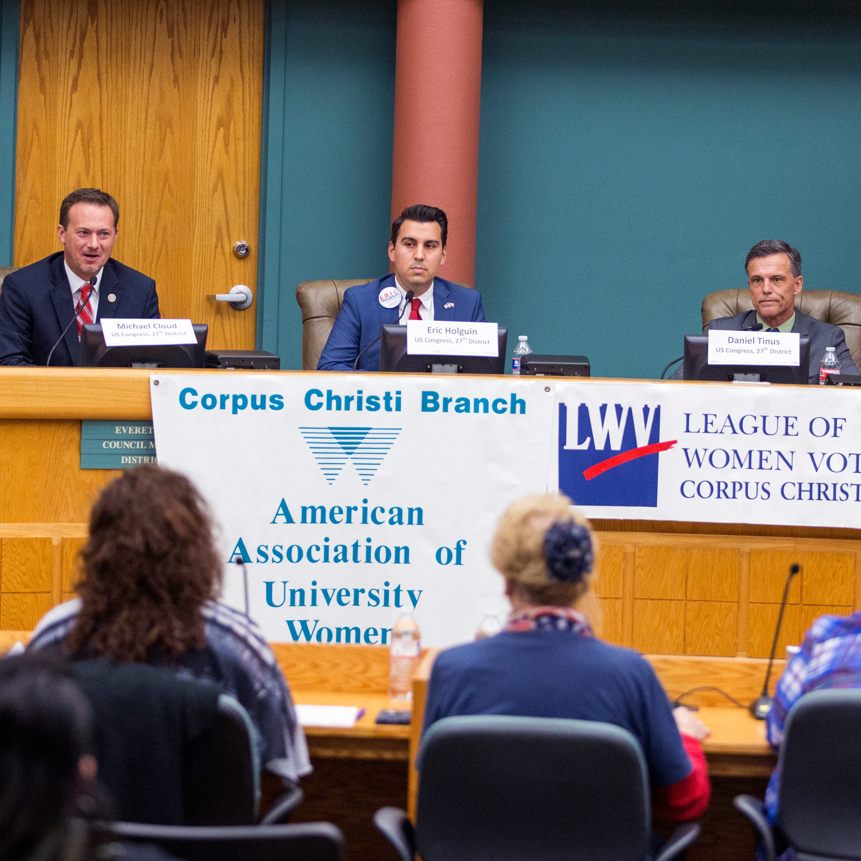 Texas midterm elections: Candidates for Texas' 27th Congressional District appear at forum
