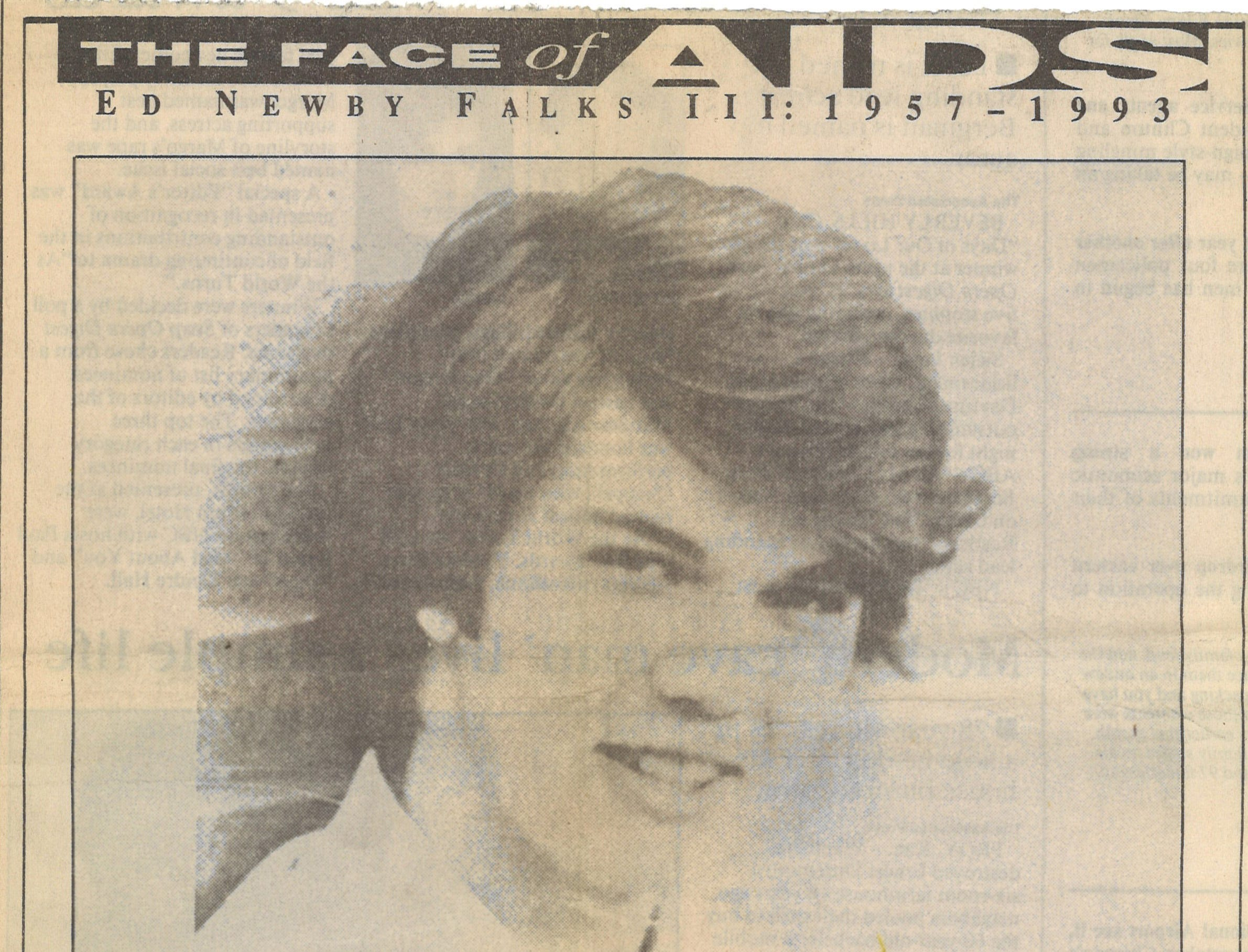 "The first part of ""The Face of AIDS"" series, where a Caller-Times reporter and photographer followed a man dying of AIDS in his last days. (1 of 2)"