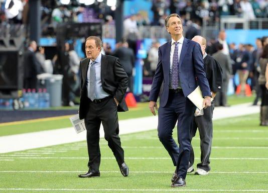 Nfl Super Bowl Lii Philadelphia Eagles Vs New England Patriots