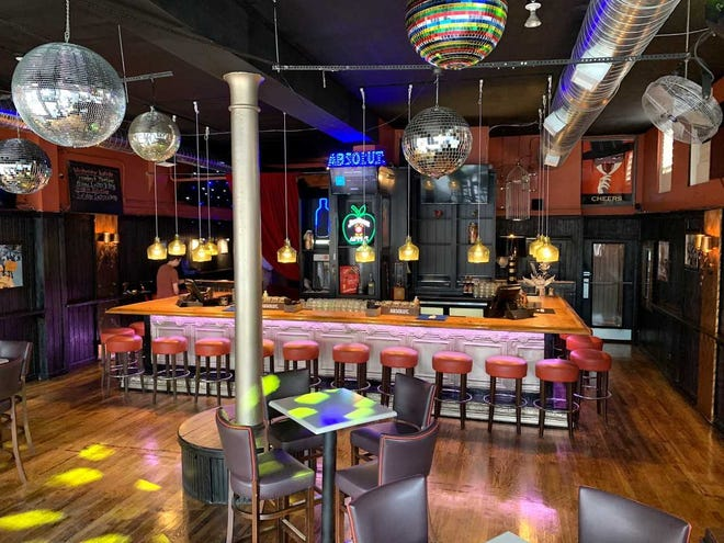 The interior of the Birdcage Bar and Lounge, located in the former Shooter's Barlocation at 927 Race Street.