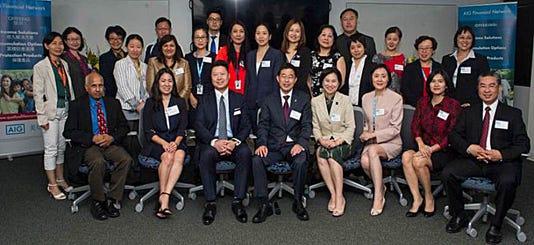 Edison AIG Financial Network office celebrates milestones PHOTO CAPTION