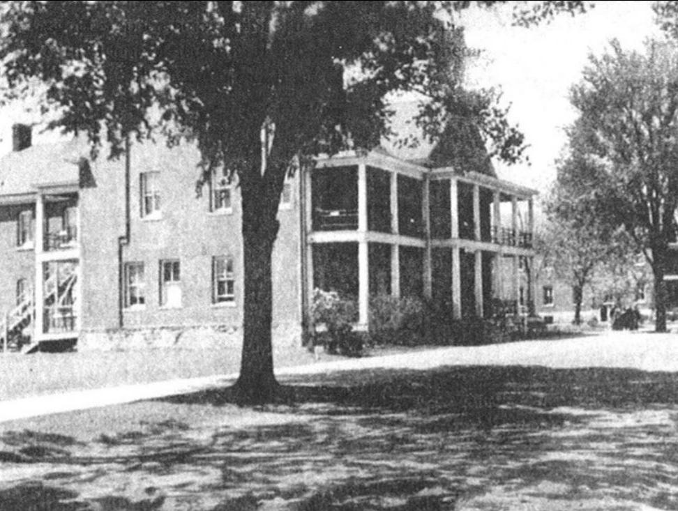 A view of the barracks in 1943.